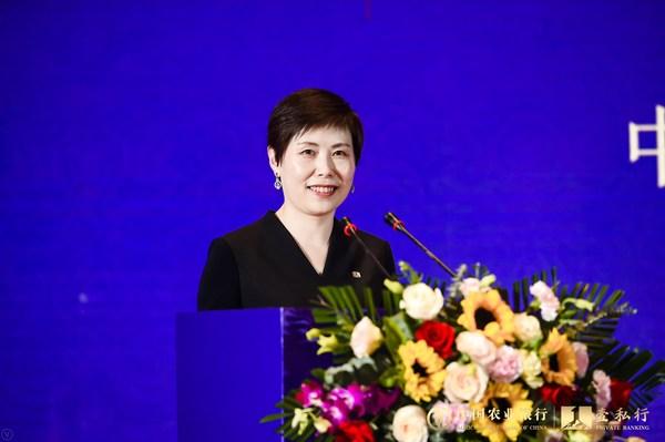 中国农业银行私人银行部总裁孙宁