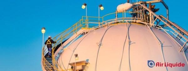 液化空气世界最大的低碳膜制氢装置在加落成