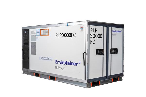凭借其独特的功能组合,温瑞通Releye® RLP集装箱为安全冷链解决方案设定了新标准,将创新的温控空运集装箱推向市场,具有革新性的使用空间、行业领先的自主性和完全集成的实时监控。