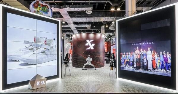 """开门见山,Sneaker Con现场特步打造潮流""""练功房"""""""