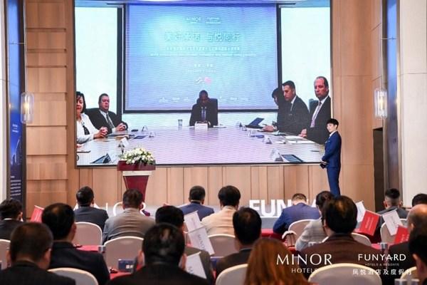 美诺国际及美诺酒店集团首席执行官Dillip Rajakarier致辞