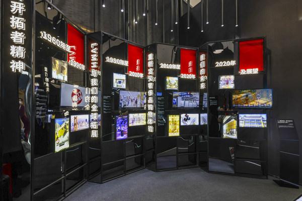 此次展览为贵宾展示了逾60年的DFS历史