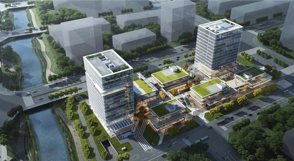 福州那迪格兰云天国际酒店项目鸟瞰图