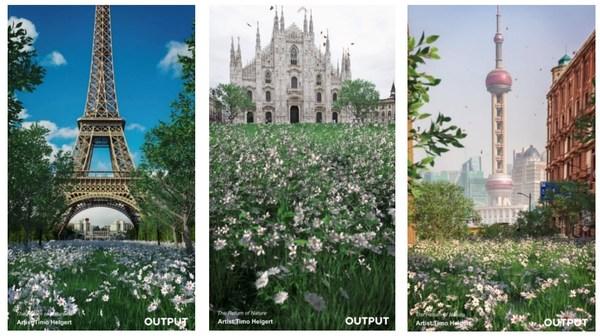 """""""城市自然系列""""裸眼3D内容"""