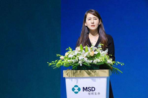 默沙东中国研发中心临床研究助理副总裁吴健宇致辞