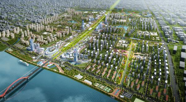 襄阳华侨城规划效果图