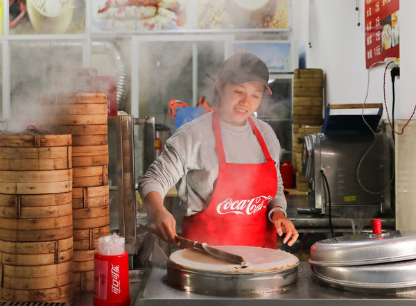 """可口可乐中国""""5by20计划""""助力广西南宁女性从业者打造""""妈妈米粉""""品牌项目"""