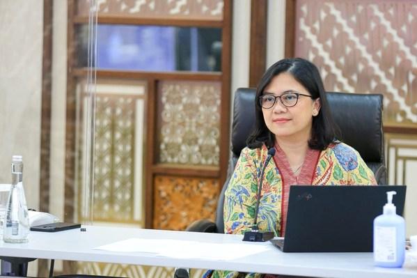 Chief Financial Officer of BRI, Viviana Dyah Ayu