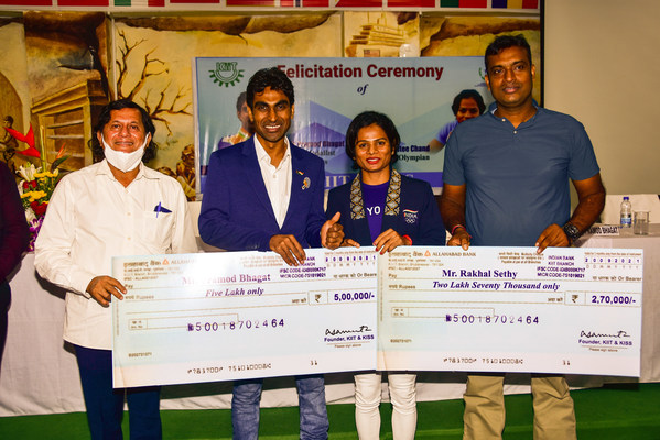 Two Stadiums of KIIT to be Named after Pramod Bhagat and Dutee Chand