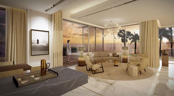 Ellinton Properties对棕榈岛别墅的艺术诠释