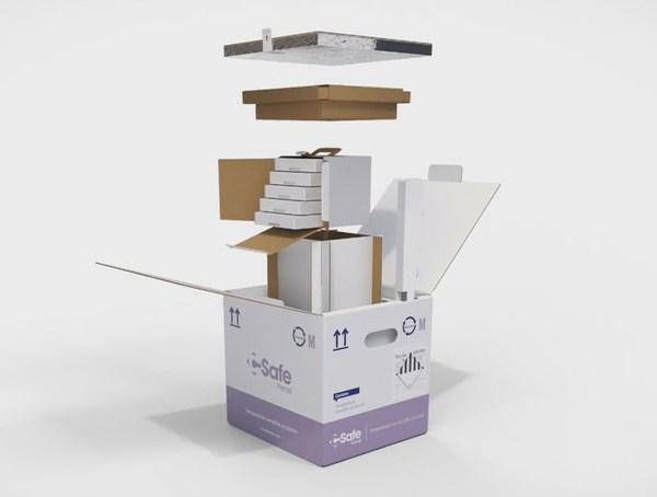 CSafe Global双壁VIP带药瓶托盘的包装运输箱