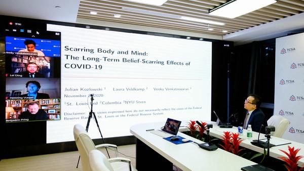 千城攻略全球事务副总裁Howard Chang出席并主持全球洲际大会