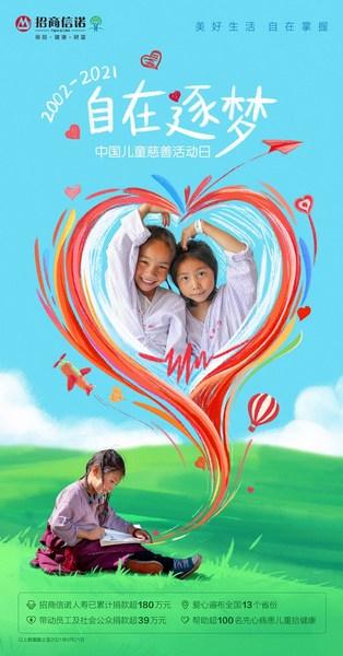 关注中国儿童慈善活动日,招商信诺人寿凝心聚力呵护孩子成长