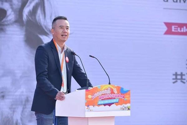 皇家宠物食品中国区总经理蔡晓东现场发言