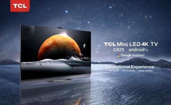 4K Mini-LED TV C825以更高的色域和更精准的光线控制,实现极致的画质效果