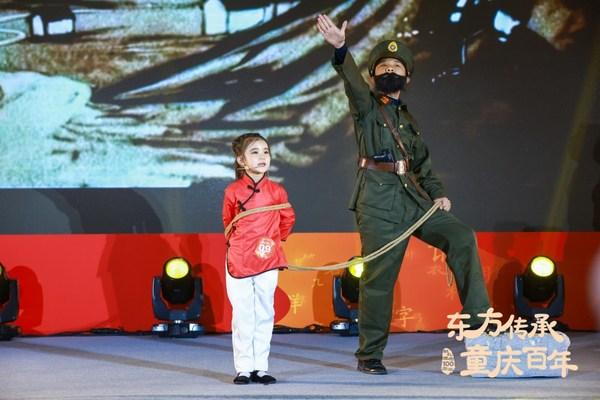 选手诠释革命英雄刘胡兰的故事