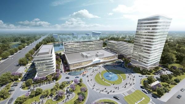 计划于今年开业的潍坊恒信拉昆塔温德姆酒店效果图
