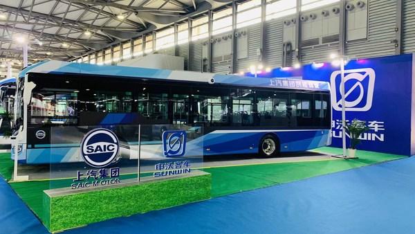 申沃9系12米级智能驾驶纯电动城市客车