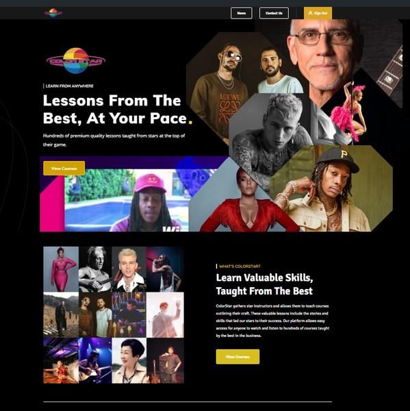 彩色星球科技网站新界面