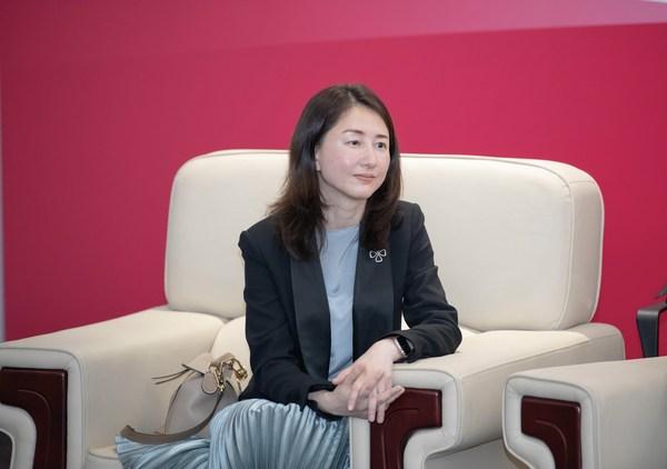 诺维信中国区总裁陈晓慧女士