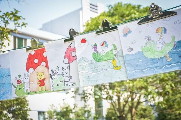 始于阅读不止阅读,孩子们用画作展现非凡创意