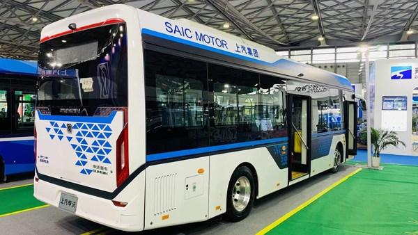申沃9系10.5米级燃料电池城市客车