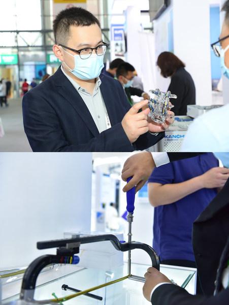 康辉医疗本土创新骨科产品展示