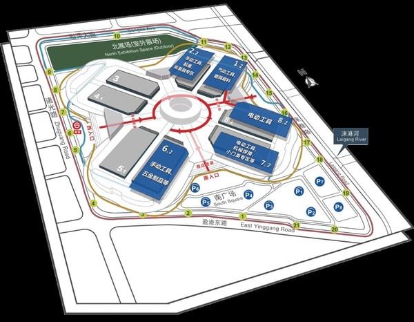 第三十五届中国国际五金博览会平面图
