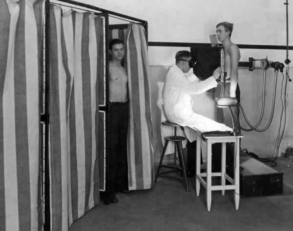 1933年在荷兰使用的飞利浦早期X射线诊断解决方案