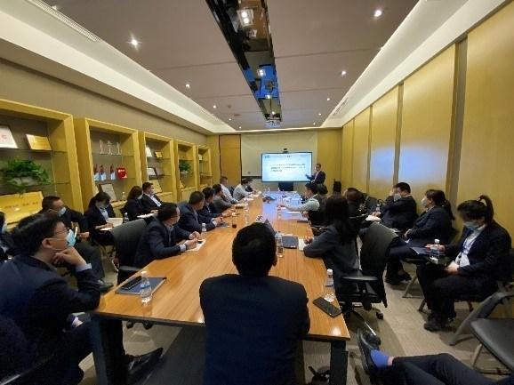"""SGS为北京京东方物业发展有限公司完成了""""服务标准体系建立""""的项目工作"""