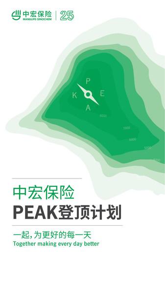 中宏保险启动PEAK登顶计划
