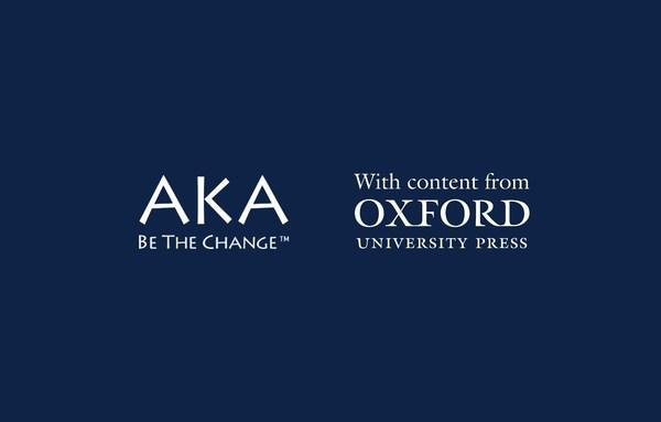 牛津大学出版社与AKA AI人工智能教育公司合作