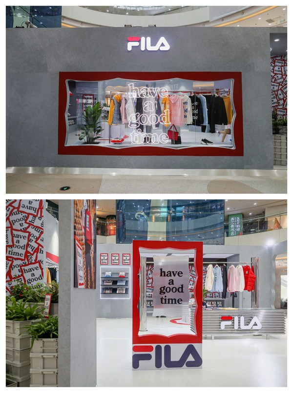 FILA x have a good time限时花店