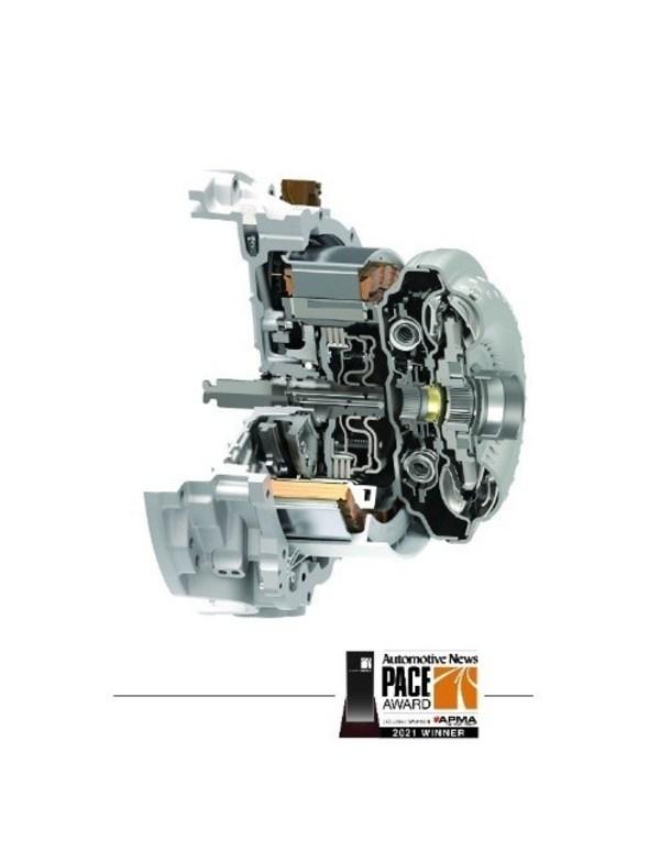 舍弗勒P2混动模块结构紧凑,可适配不同车辆平台