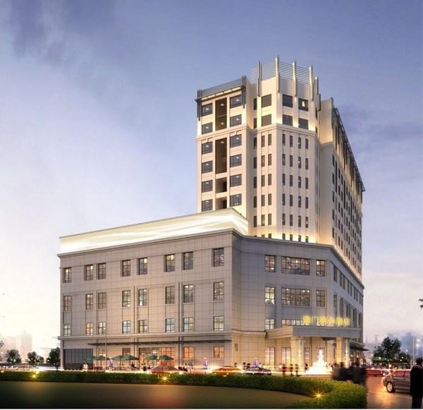 河池·澳门国际城 综合楼效果图