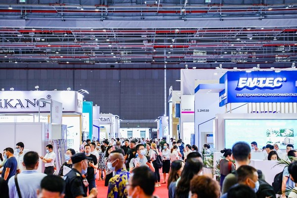 2020上海国际水展现场