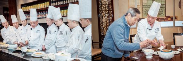 中国烹饪大师冯祥文亲临指导淮扬菜烹饪技艺
