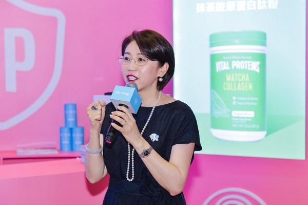 雀巢健康科学大中华区总裁顾欣鑫女士发言