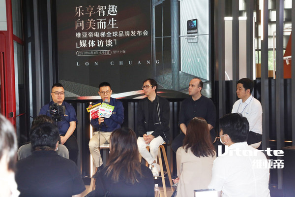 龙闯电梯创始人兼总经理孙金龙接受媒体采访