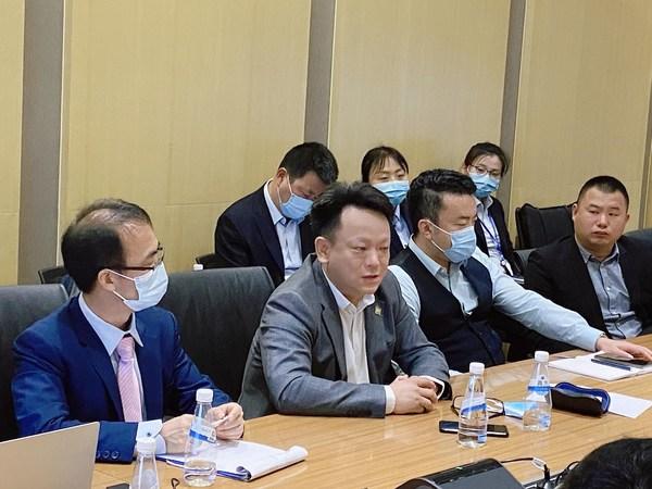 "SGS知识与管理服务事业群中国区总经理辛斌在京东方物业""服务标准体系建立""项目结项会议上发言"