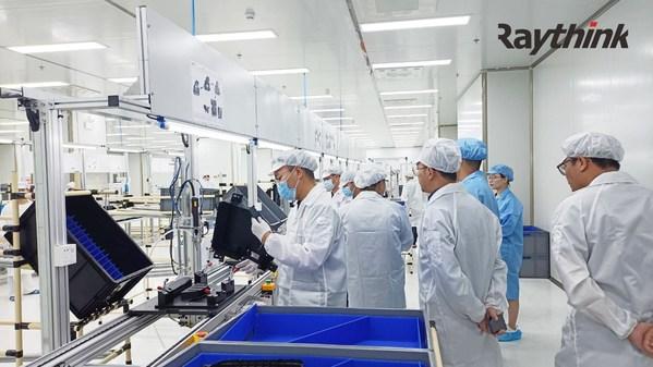 位于深圳的锐思华创光明工厂基地也已为量产做足准备。