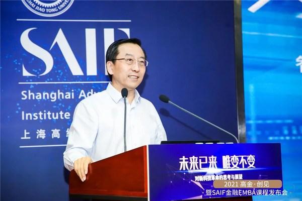 中国物理学会理事长,上海交通大学原校长,中国科学院院士、原副院长张杰