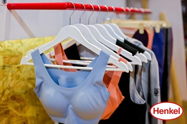 汉高全新超能舒弹胶令衣物具有高弹性的同时有效塑形