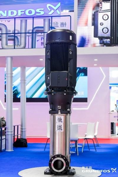 格兰富重点展出新一代CR泵