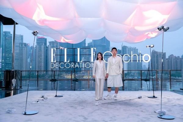 左:Occhio(欧可优)中国区总经理关杨;右:《ELLE DECORATION家居廊》首席内容官及编辑总监孙信喜