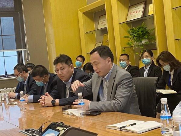 """京东方物业总经理蔡敏感谢SGS在""""服务标准体系建立""""项目上的付出"""