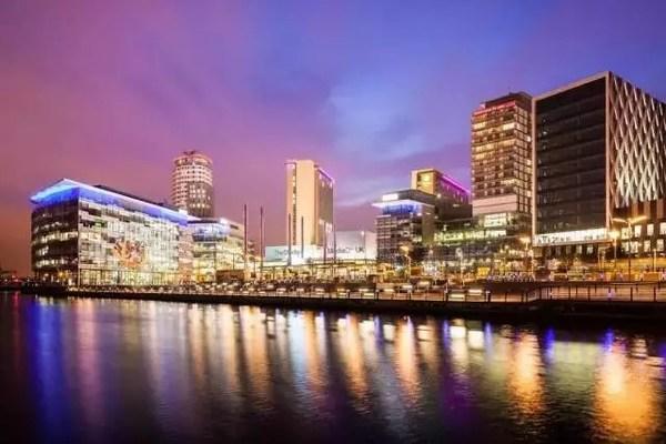 曼彻斯特索尔福德码头兴建英国媒体城,转型为城市科创区