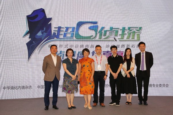 左起:贺茹军、陆红、陈晓宇、万荣、丁希伟、陈慧敏、吴猛