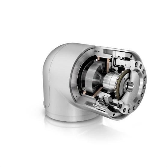 要开发更加紧凑、工作范围更大、承载能力更高的机器人,必须使用高性能的创新系统部件。舍弗勒提供适用于关节的系统总成,其中包括DuraWave RTWH应变波齿轮、XZU角接触滚针轴承和UPRS系列电机等。