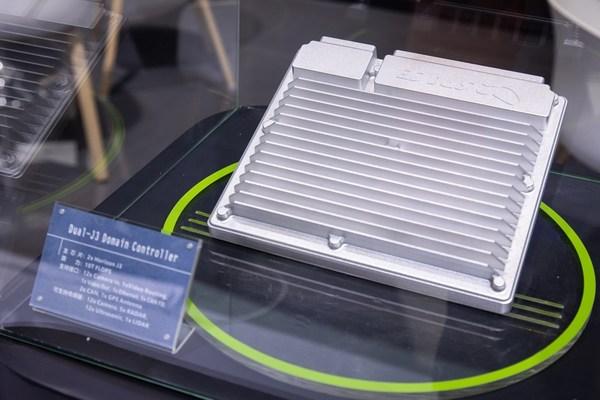追势科技在北京车展上基于双颗地平线J3软硬一体解决方案